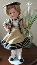 """Danbury Mint - Shirley Temple Movie Classics - Wee Willie Winkie - 10"""" Collector"""