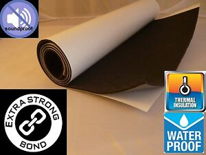 self adhesive closed cell foam sheets thermal soundproofing  2metre x 50cm x 3mm