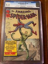 AMAZING SPIDER-MAN #20 1/65 CGC 8.5 OWW FIRST SCORPION!!! NICE HIGH GRADE KEY!!