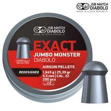 JSB Exact Jumbo Monster .22 REDESIGNED Air Rifle Pellets Full Tin of 200 5.52