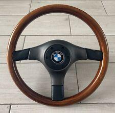 Genuine Nardi Italia BMW E36 M3 Wooden Steering Wheel