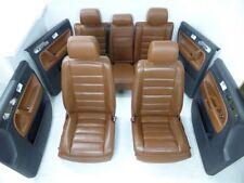 VW Touareg 7L Sitzausstattung Sitze Leder braun Cognac mit Sitzheizung komplett
