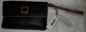 STUNNING NEW SMALL DOONEY AND BOURKE BLACK WRISTLET WITH TAGS.   ZR0236