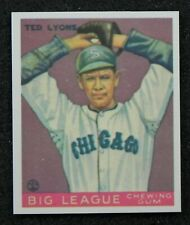 Ted Lyons 1933 GOUDEY GUM COMPANY Reprint Card #7 from Dover