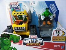 Playskool Marvel Super Heroe Adventures Hulk Power Dozer