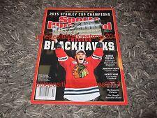 Jonathan Toews Signed Sports Illustrated Nhl W/Proof Chicago Blackhawks
