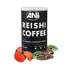 Premium Biologico 100% Arabica Grounded Con Reishi Polvere 100g ANi (Lattina)