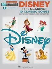 Disney : Clarinet Easy Instrumental Play-Along Book with Online Audio Tracks