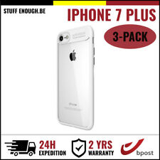 3IN1 Focus Cover Cas Coque Etui Silicone Hoesje Case For iPhone 7 Plus White