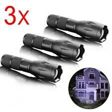 3x LED Polizei Taschenlampe SwatT6 Outdoor Taktische Militär Zoom Camping Licht