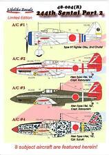 Lifelike Decals 1/48 JAPANESE 244TH SENTAI Ki-27 & Ki-61 Part 2