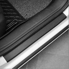 Carbon Fiber Car Door Sill Scuff Stickers Plate Edge Guard Pedal Strip Parts Us Fits Isuzu