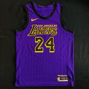 NBA AUTHENTIC Kobe Bryant Los Angeles Lakers Nike City Edition jersey 48 L NWOT