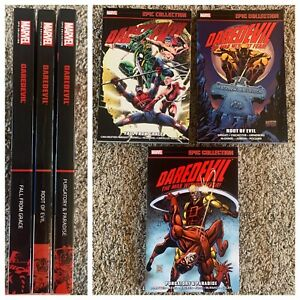 Daredevil Epic TPB Set Vol 18 19 20 Fall From Grace Root of Evil Purgatory 319
