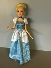 Disney Cinderella - hinged arms and wrists; blue gown; black choker