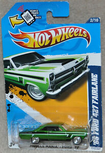 Hot wheels Super Treasure Hunt '66 FORD 427 FAIRLANE Muscle Mania Ford '12