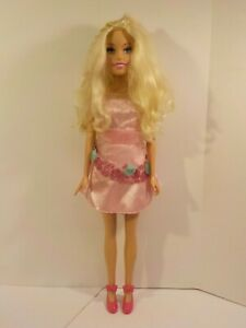 Mattel Barbie Doll Blonde Just Play My Size 28 Inches w outfit