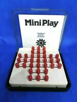 VINTAGE Jeu Solitaire Solitär Solitario Mini Play Made In Germany