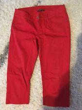 Shorts Bermudas Rot Von Esmara Gr 40 Damen