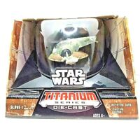Slave I Boba Fett STAR WARS Titanium Series Large Die Cast SEALED