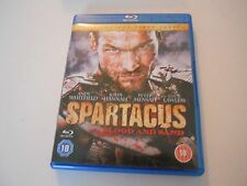 SPARTACUS BLOOD AND SAND - THE COMPLETE FIRST SERIES BLU RAY DVD