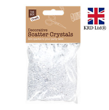 CLEAR WEDDING SCATTER CRYSTALS Table Decoration Diamond Confetti Sparkle STA0242