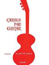Carols for Guitar Solo Sheet Music New 014006210