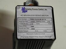 Servo Motor w/ encoder ASM81-A-0/B-00-NB/10, Berkeley Process Controls Inc.