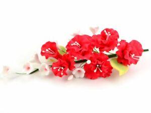 Feinzucker Bouquet Peony Blumen Blüten Hochzeit Rot Red Weiß White Rosen