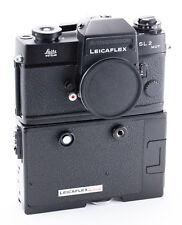 (142) Leica Leicaflex SL2 Mot w/Leicaflex Motor strap boxes serviced near MINT