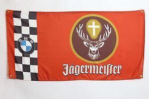 JAGERMEISTER FLAG BANNER ~ DTM JAGER For BMW Group 5 M3 320 RACING 3.0 CSL