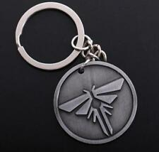 Game The Last of Us Logo Pendant Metal alloy Key chain Keyring In Box gift *