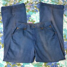 Vtg Jeans Overthetop Brand Denim 1960s Western Wear Sz 30 x 31 See Measurements