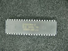 Lot of 9, Intel CMOS Microprocessors P80C86A-2 16-Bit New in Sealed ESD tubes