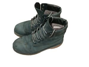 Timberland A173C Mens Work Boots Mid Olive Green Size 6
