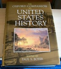 AF0514 Book THE OXFORD COMPANION TO UNITED STATES HISTORY 2001 hb text