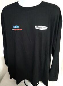 Stewart-Haas Racing Ford Performance 2XL Team Issued Long Sleeve T-shirt NASCAR