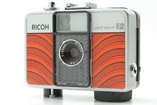 【Exc+6  】 Ricoh Auto Half E2 35mm  Red Film half camera From JAPAN #410