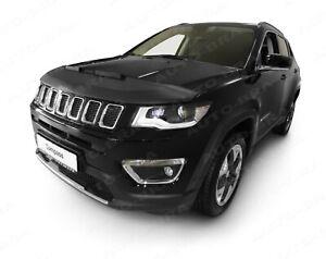 CAR HOOD BRA Jeep COMPASS since 2016 NOSE FRONT END MASK BRA DE CAPOT