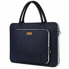 """Ropch 15.6"""" Felt Laptop Sleeve with Handle, Portable Laptop Bag Notebook"""