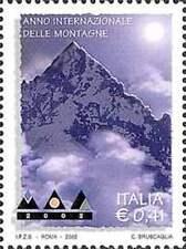 Italia 2002 Anno internazionale delle Montagne Mnh