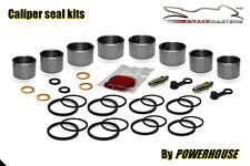 Honda cbr900 rr Fireblade Front Brake Caliper Piston Seal Rebuild Kit 929 2001