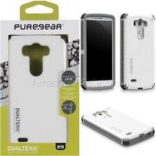 PureGear LG G3 Dualtek Extreme Impact Rugged Case Protector Cover White, 60708PG