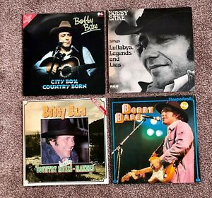 BOBBY BARE - 4 VINYL LP COUNTRY Collection + 1 x CD