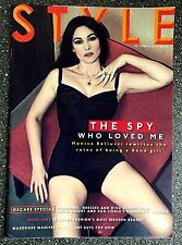 Very Rare 2015 UK The Sunday Times Style Magazine - Monica Bellucci James Bond