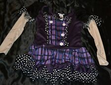 Doll Dolly Undead Dead Monster High Halloween Costume Fits Kids Size XL 14-15-16