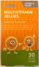 Multivitamin ASDA Orange Jellies - Children Chewable Multi Vitamins (A B6 C D E)