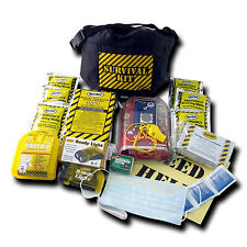 Emergency Survival Kit Fanny Pack - 1 Person, 3 Day Earthquake Disaster Kit