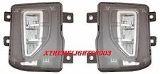 CHEVROLET SILVERADO 1500 2016 2017 FOG LIGHTS DRIVING BUMPER LAMPS PAIR