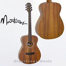 MARTINEZ KOA SMALLER BODY ACOUSTIC STEEL STRING GUITAR MF-25K-NST **BRAND NEW**